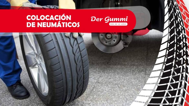 Colocación de neumáticos